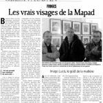 MAPAD : Imago Lucis dans le Dauphiné Libéré