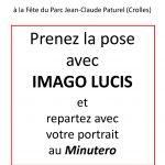 Imago Lucis est à la fête du parc (Crolles)